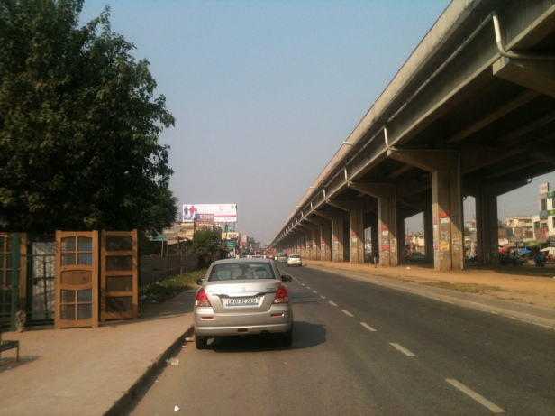 Zirakpur Flyover Photo by Sanjeev Gupta