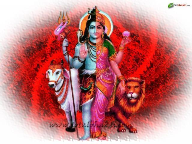 Lord Shiva & Parvathi 3