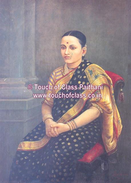 Raja Ravi Varma's Paintings: Portrait Woman