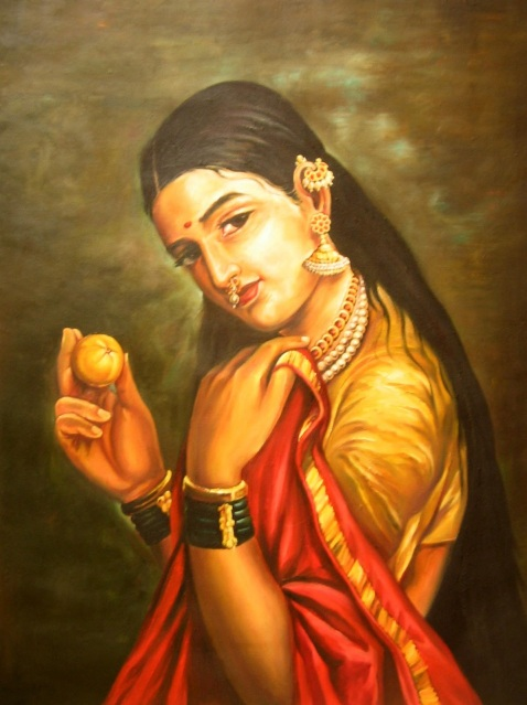 Indian Art Women Paintings 6