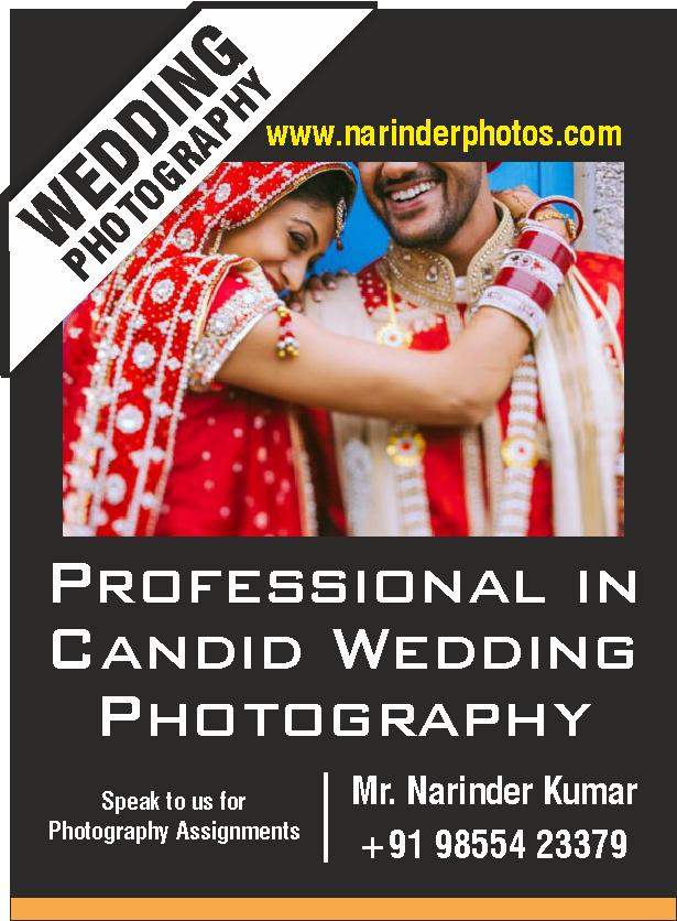 Narinder candid photography Chandigarh, Mohali, Panchkula Ad 1