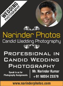 Narinder candid photography Chandigarh, Mohali, Panchkula Ad 2