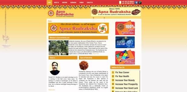 Apna Rudraskha.com  Pt. R. D. Shandliya, Panchkula