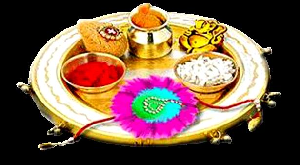 Raksha Bandhan PNG Madangfx Puja thali